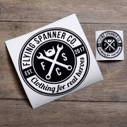 Sticker Flying Spanner