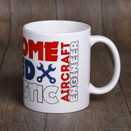 Aircraft Engineer mug ceramic