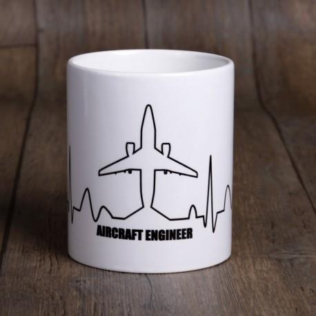 ECG mug - ceramic